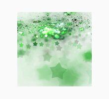 Green Stars - Abstract Fractal Artwork Unisex T-Shirt