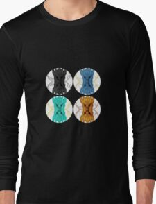 Sauron Mirror POP ART Long Sleeve T-Shirt