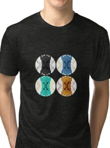 Sauron Mirror POP ART Tri-blend T-Shirt