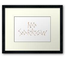 Arrows: 4 Framed Print