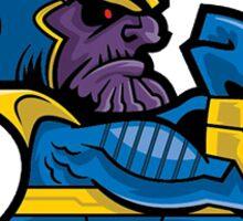 Fighting Thanos Sticker