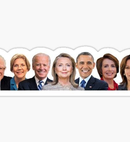 Democrat Squad Goals Sticker