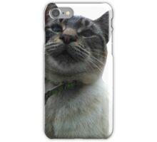 Casper the Cross Eyed Cat iPhone Case/Skin