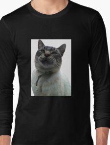 Casper the Cross Eyed Cat Long Sleeve T-Shirt