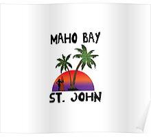 Maho Bay St. John Poster