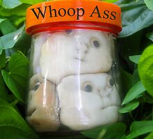 Whoop Ass jar by David Lee Thompson