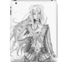 The Doll (Black and White) iPad Case/Skin