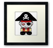Pirate O'BOT 1.0 Framed Print