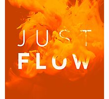 JUST FLOW Yellow Photographic Print
