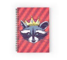 Rey Mapache Spiral Notebook