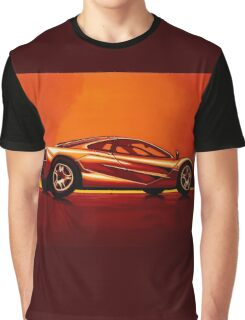 McLaren F1 Painting Graphic T-Shirt