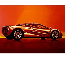 McLaren F1 Painting Photographic Print