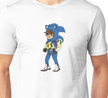 Tracer Overwatch Sonic Gotta go fast textless Unisex T-Shirt