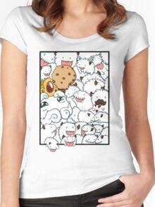Poros, POROS everywhere Women's Fitted Scoop T-Shirt