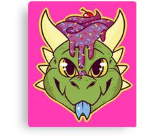 Cupcake Dragon Canvas Print
