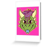 Cupcake Dragon Greeting Card