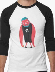 Tim Duncan the Fundamental Father Men's Baseball ¾ T-Shirt