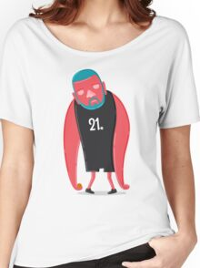 Tim Duncan the Fundamental Father Women's Relaxed Fit T-Shirt