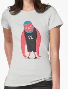 Tim Duncan the Fundamental Father Womens Fitted T-Shirt