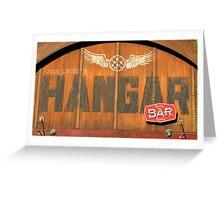 Hangar Bar Disney Springs Florida Greeting Card