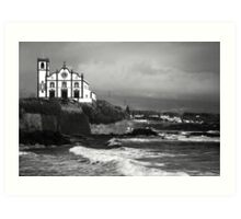 Church by the sea Art Print