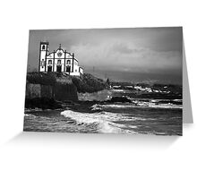 Church by the sea Greeting Card
