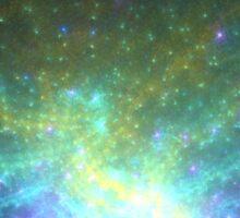 Galaxy - Abstract Fractal Artwork Sticker