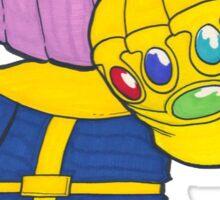 Cute Thanos Sticker