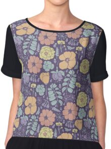 Blooming summer garden Chiffon Top