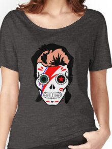 skull of bowie Women's Relaxed Fit T-Shirt