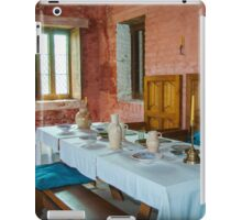 Dining table of the rich medieval shipowner - Walraversijde iPad Case/Skin
