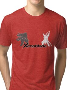 Xenoblade - bionis and mechonis Tri-blend T-Shirt