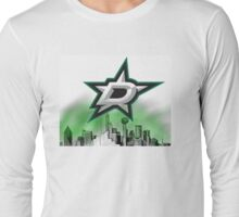 Dallas Stars Skyline Long Sleeve T-Shirt