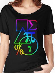 Mathematics Design Women's Relaxed Fit T-Shirt