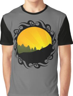 cycling tribalz Graphic T-Shirt