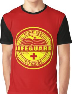 Dune Sea Lifeguard [Yellow Distressed] Graphic T-Shirt