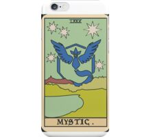 Pokémon Go Team Mystic Tarot Card iPhone Case/Skin