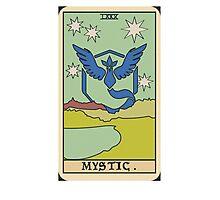 Pokémon Go Team Mystic Tarot Card Photographic Print