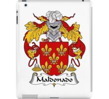 Maldanado Coat of Arms/Family Crest iPad Case/Skin