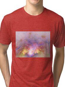 Galactic - Abstract Fractal Artwork Tri-blend T-Shirt