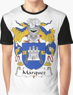 Marquez Coat of Arms/Family Crest Graphic T-Shirt