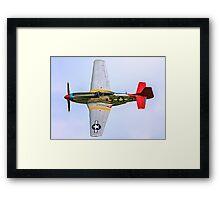 P-51D Mustang 44-72035/A3-3 G-SIJJ Framed Print