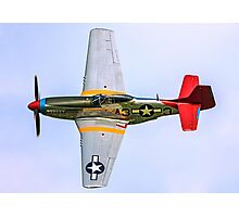 P-51D Mustang 44-72035/A3-3 G-SIJJ Photographic Print
