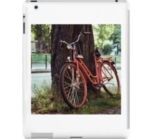 Bicycle Under A Tree iPad Case/Skin