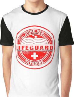 Dune Sea Lifeguard [Red Distressed] Graphic T-Shirt