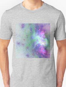 Nebula - Abstract Fractal Artwork Unisex T-Shirt