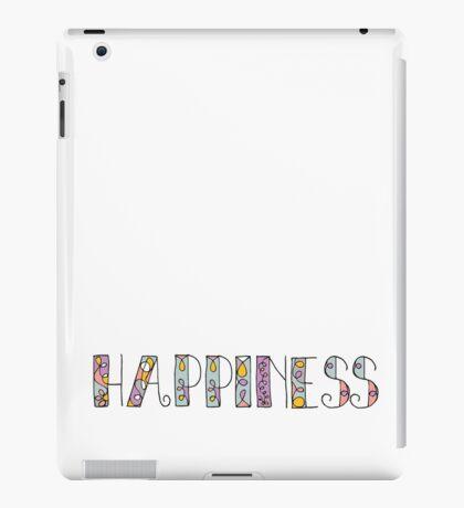 Happiness Alphabet  iPad Case/Skin
