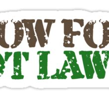 Grow food not Lawns Sticker