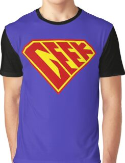 Geek Power Graphic T-Shirt