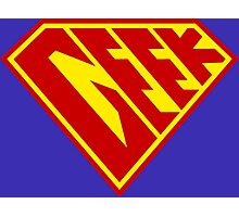 Geek Power Photographic Print